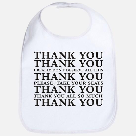 Thank You Speech Bib