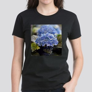 Blue hortensia Women's Dark T-Shirt
