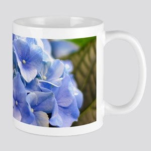 Blue hortensia Mug