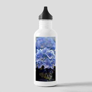 Blue hortensia Stainless Water Bottle 1.0L