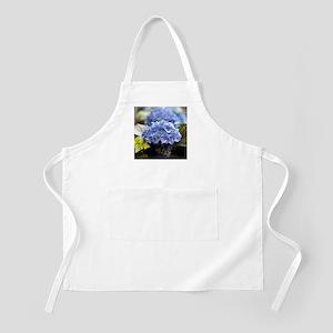 Blue hortensia Apron