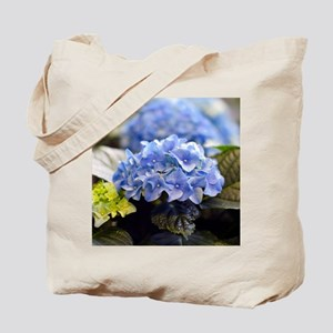 Blue hortensia Tote Bag