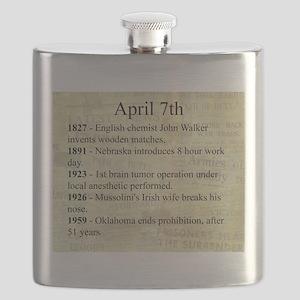 April 7th Flask