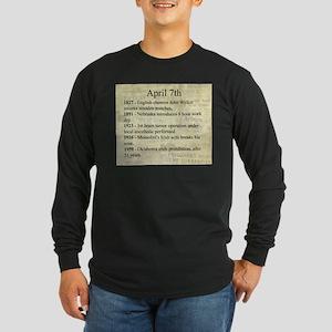 April 7th Long Sleeve T-Shirt