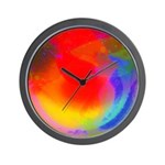 Playing larks Wall Clock