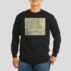 April 4th Long Sleeve T-Shirt