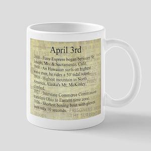 April 3rd Mugs