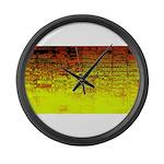 Sunrise Large Wall Clock