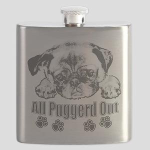 Puggerd out pug Flask