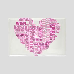austria-in german words Magnets