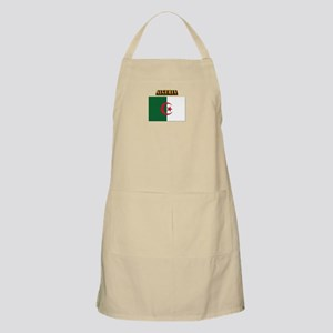 Flag of Algeria with Text Apron