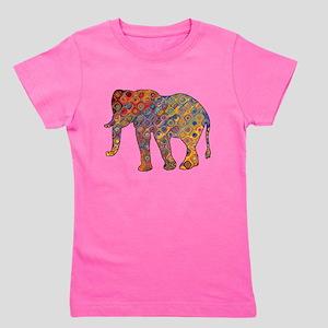 Artisan Elephant Print T-Shirt