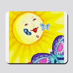 Butterfly Sun Mousepad