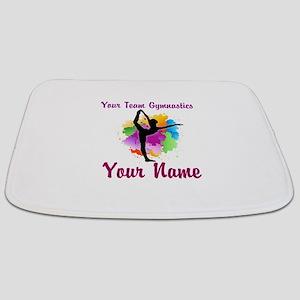 Customizable Gymnastics Team Bathmat