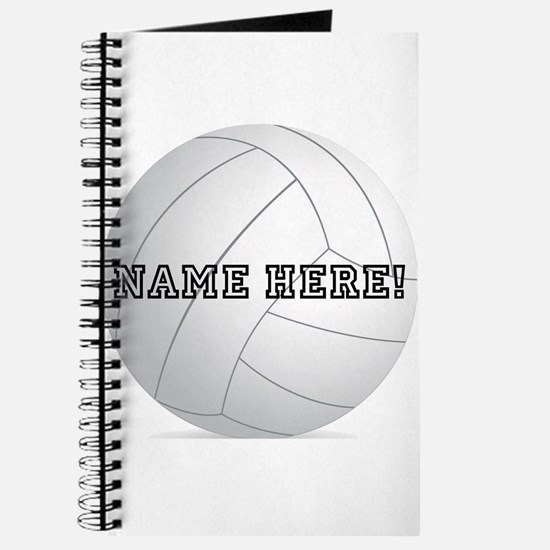 Personalized Volleyball Journal