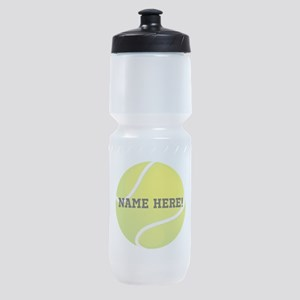 Personalized Tennis Ball Sports Bottle