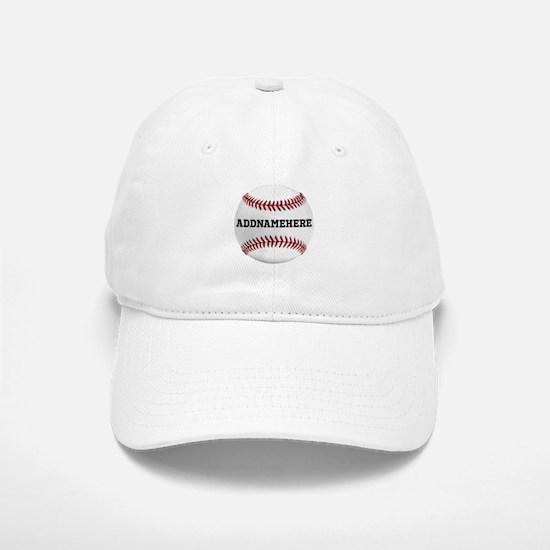 Personalized Baseball Red/White Baseball Baseball Cap