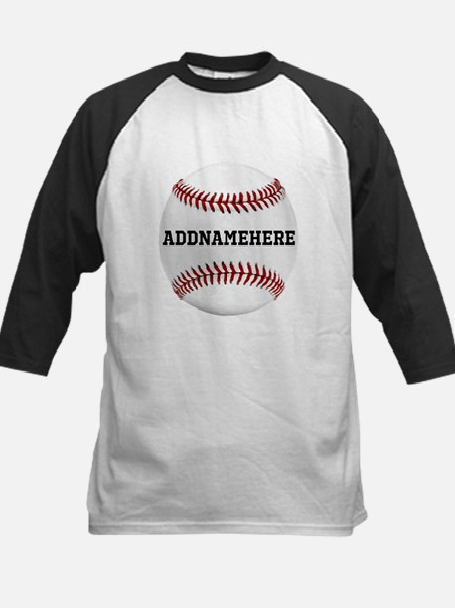 Personalized Baseball Red/White Kids Baseball Jers