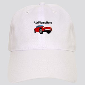 Sports Car, Custom Name Cap