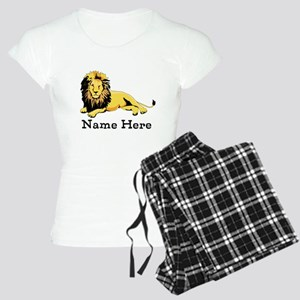 Personalized Lion Women's Light Pajamas