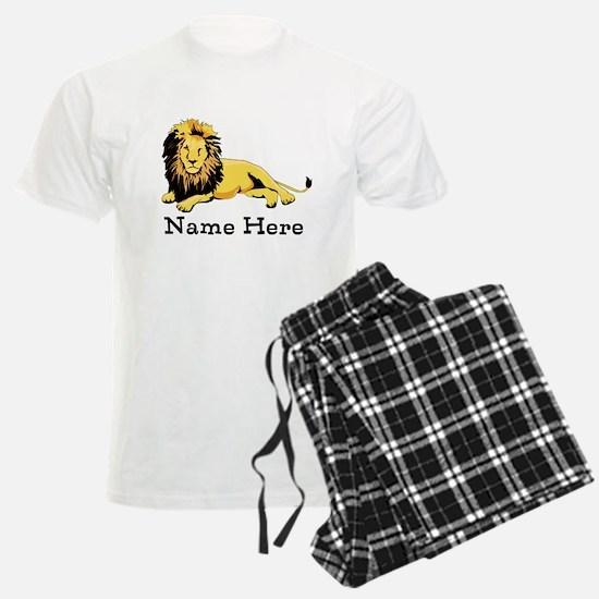 Personalized Lion Pajamas
