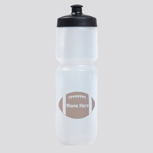 Personalized Football Ball Sports Bottle