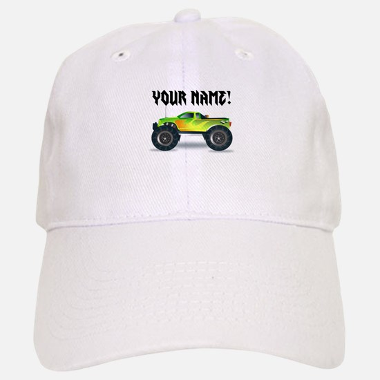 Personalized Monster Truck Baseball Baseball Cap