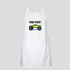 Personalized Monster Truck Apron