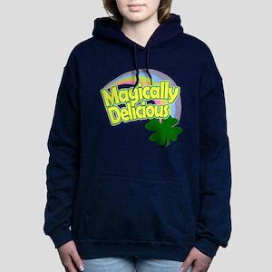 Magically Delicious Pastel Rainb Hooded Sweatshirt