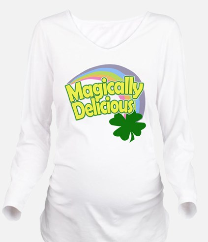 Magically Delicious Long Sleeve Maternity T-Shirt