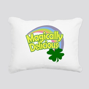 Magically Delicious Past Rectangular Canvas Pillow
