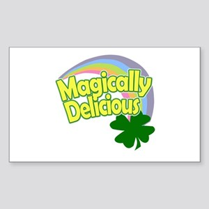 Magically Delicious Rainbow Sticker (rectangle)