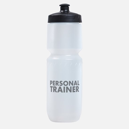 Personal Trainer Black/White Sports Bottle