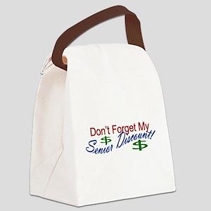 senior discount Canvas Lunch Bag