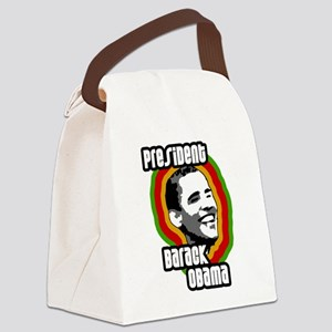 presbarackobama-solo Canvas Lunch Bag