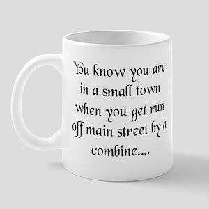 Small Towns and Tractors! Mug