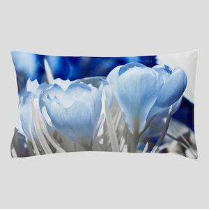 Crocus in infrared sunlight Pillow Case