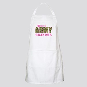 Camo Proud Army Grandma Apron