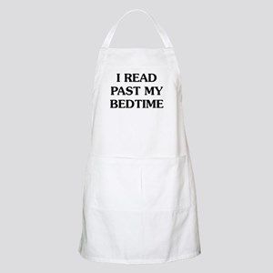I Read Past Light Apron