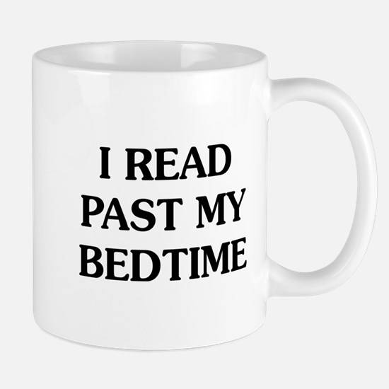 I Read Past Mug