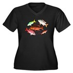5 Snappers c Plus Size T-Shirt