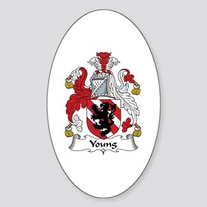 Young Oval Sticker