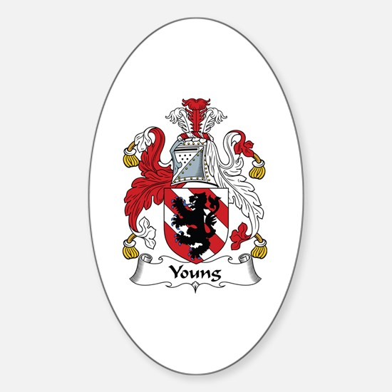 Young Oval Decal