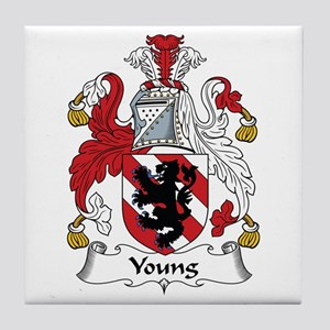 Young Tile Coaster