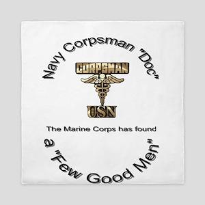 Corpsman Queen Duvet