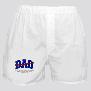 Christian Dad - Fathers Day Boxer Shorts