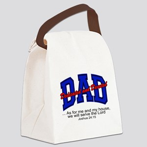 Christian Dad - Fathers Day Canvas Lunch Bag