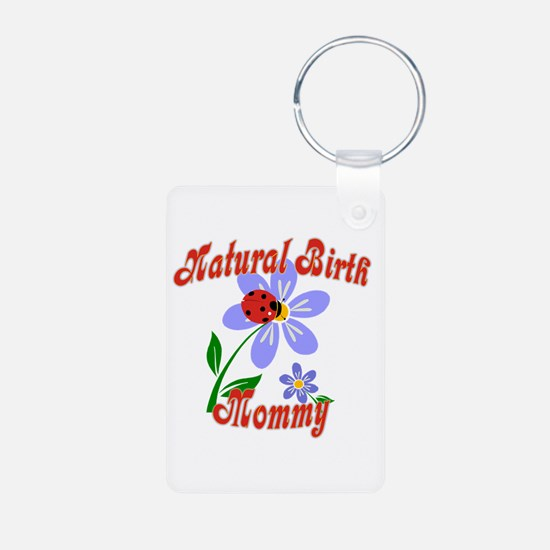 Natural Birth Mommy Keychains