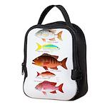 5 Snappers v Neoprene Lunch Bag