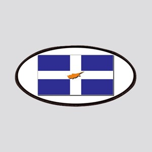 Flags of Greek Cypriots Patches